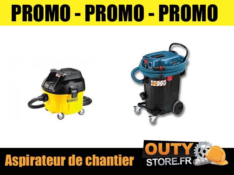 Promo aspirateur chantier sans sac bricorama
