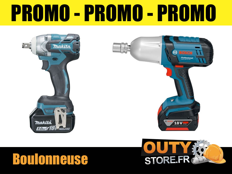 Promo boulonneuse pneumatique wurth