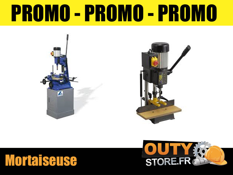 Promo mortaiseuse tornado