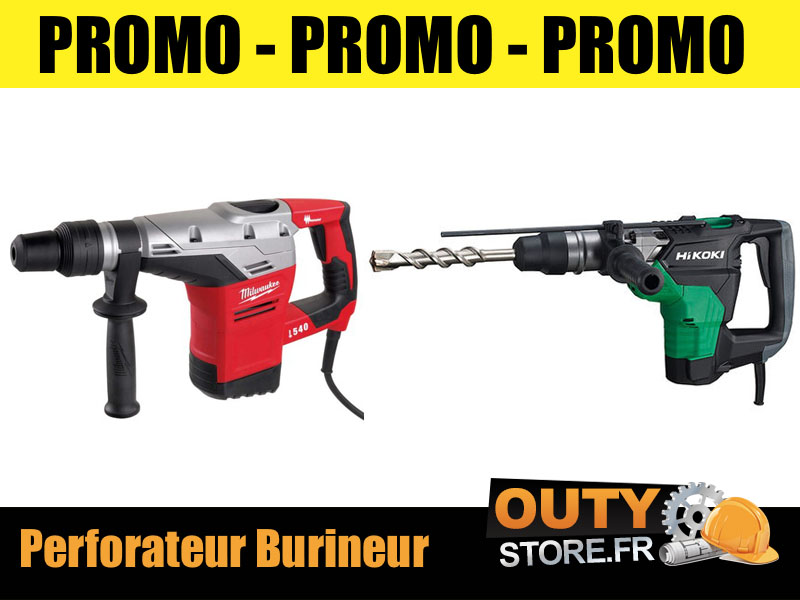 Promo perforateur burineur makita sds-plus 800w ø26mm - en coffret - hr2630