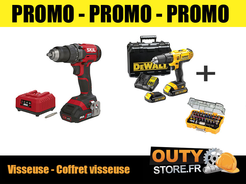 visseuse milwaukee 18v 5ah en promo